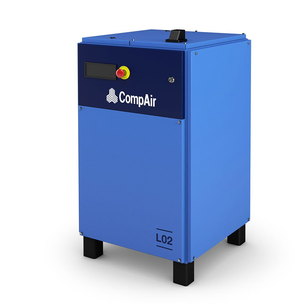 Midlands UK supplier and authorised distributor of the CompAir L02 air compressor range