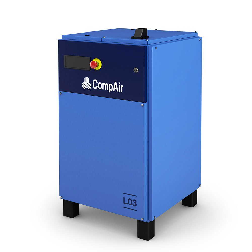Midlands UK supplier and authorised distributor of the CompAir L03 air compressor range