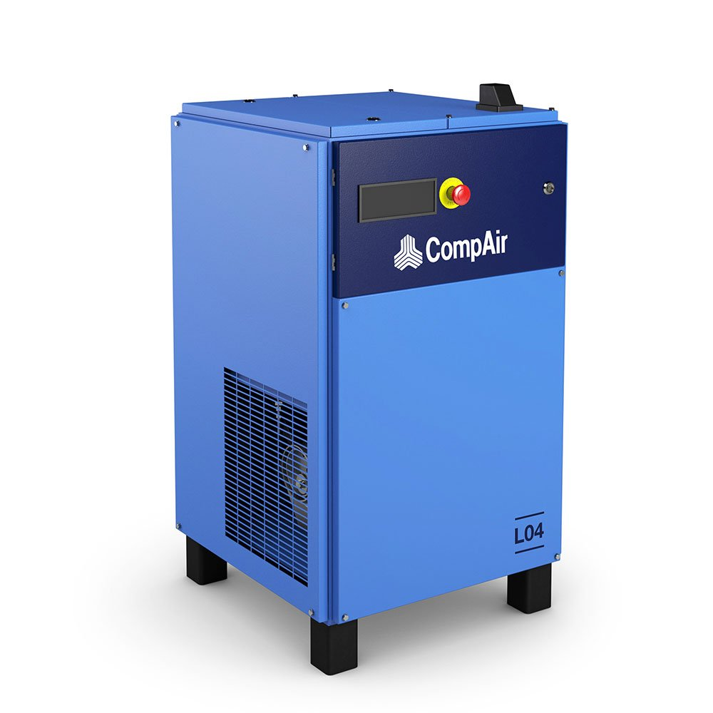 Midlands UK supplier and authorised distributor of the CompAir L04 air compressor range