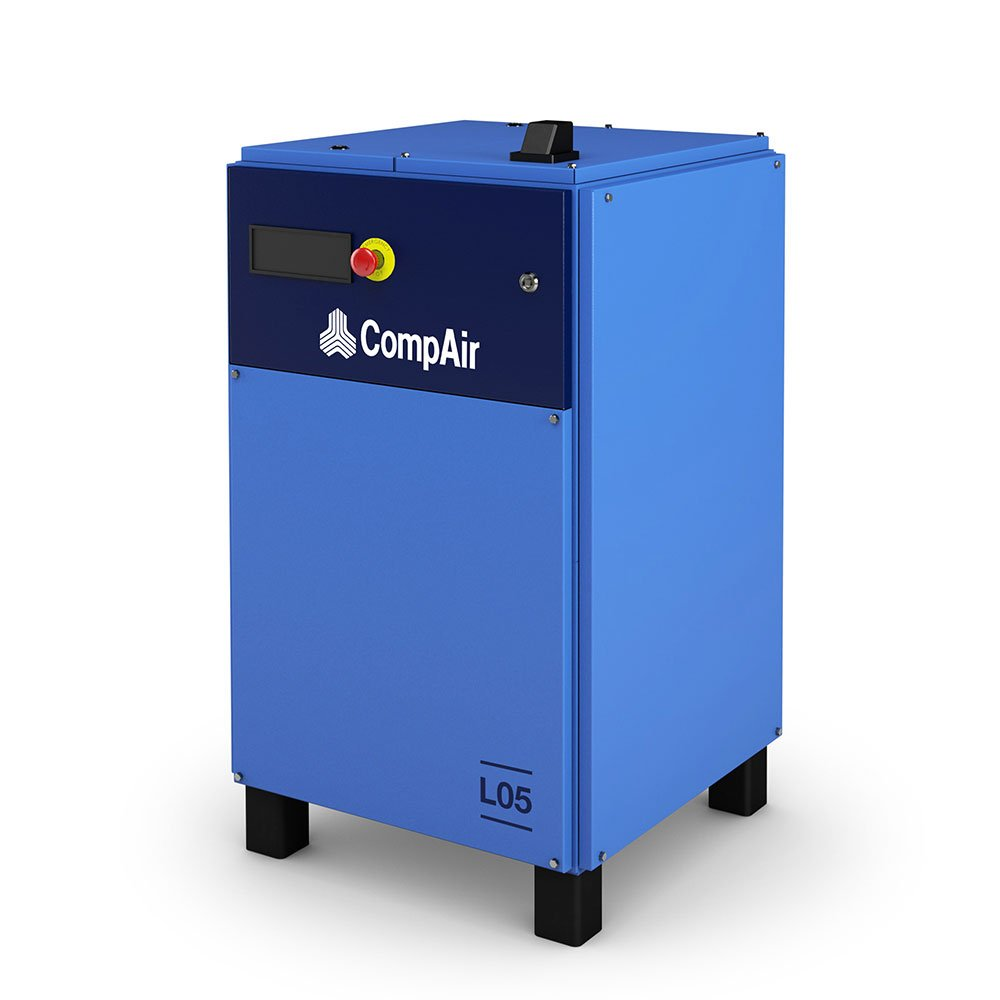 Midlands UK supplier and authorised distributor of the CompAir L05 air compressor range