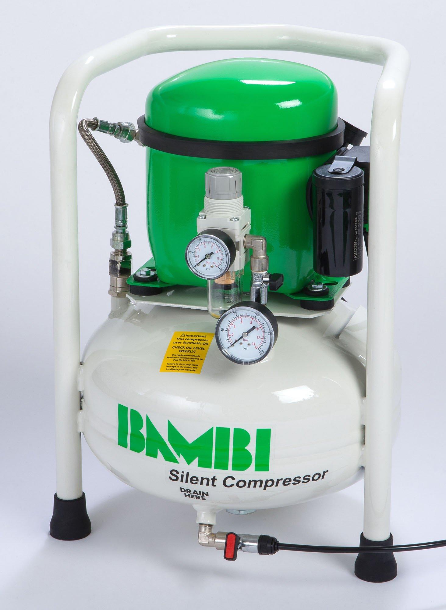 Midlands UK supplier of Bambi BB15V air compressor