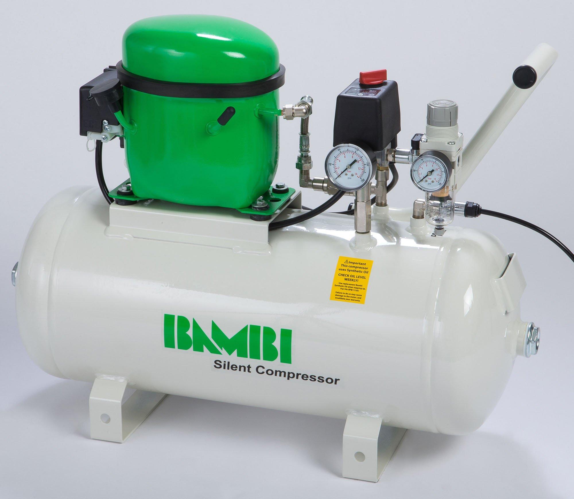 Midlands UK supplier of Bambi BB24 air compressor