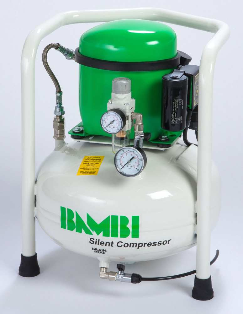 Midlands UK supplier and authorised distributor of the Bambi BB8 air compressor range