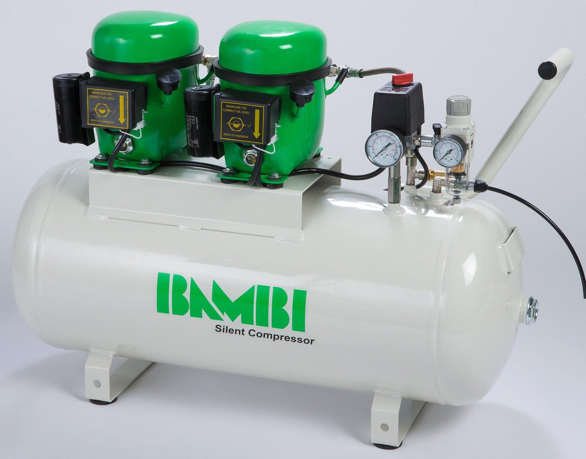 Midlands UK supplier of Bambi BB50D air compressor