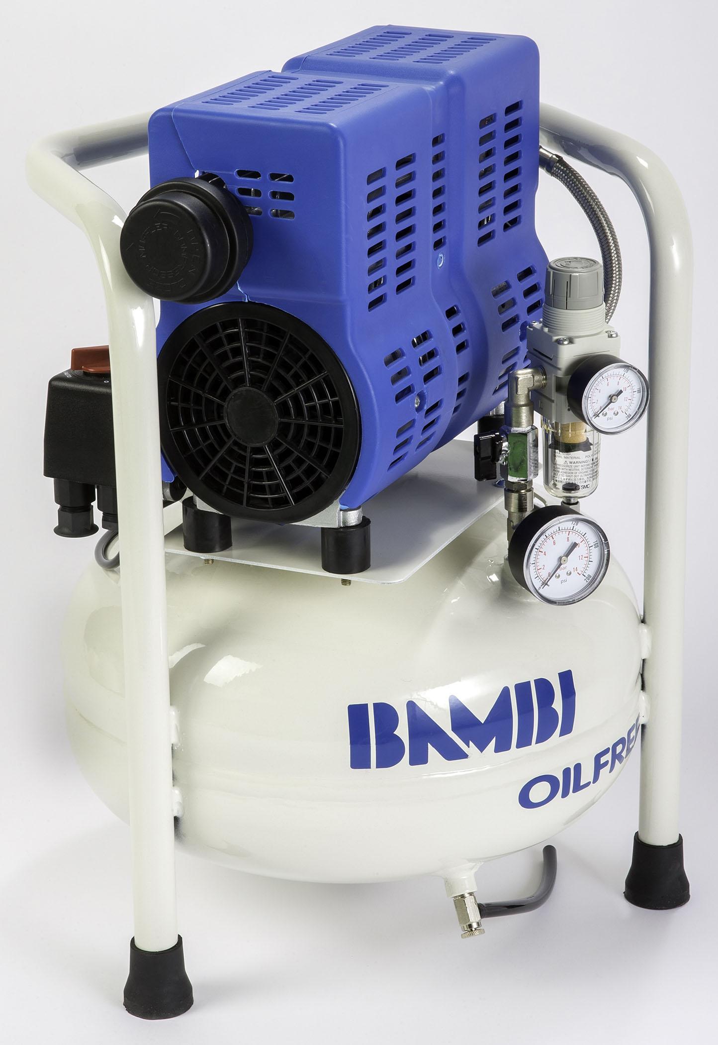 Midlands UK supplier of Bambi PT15 air compressor