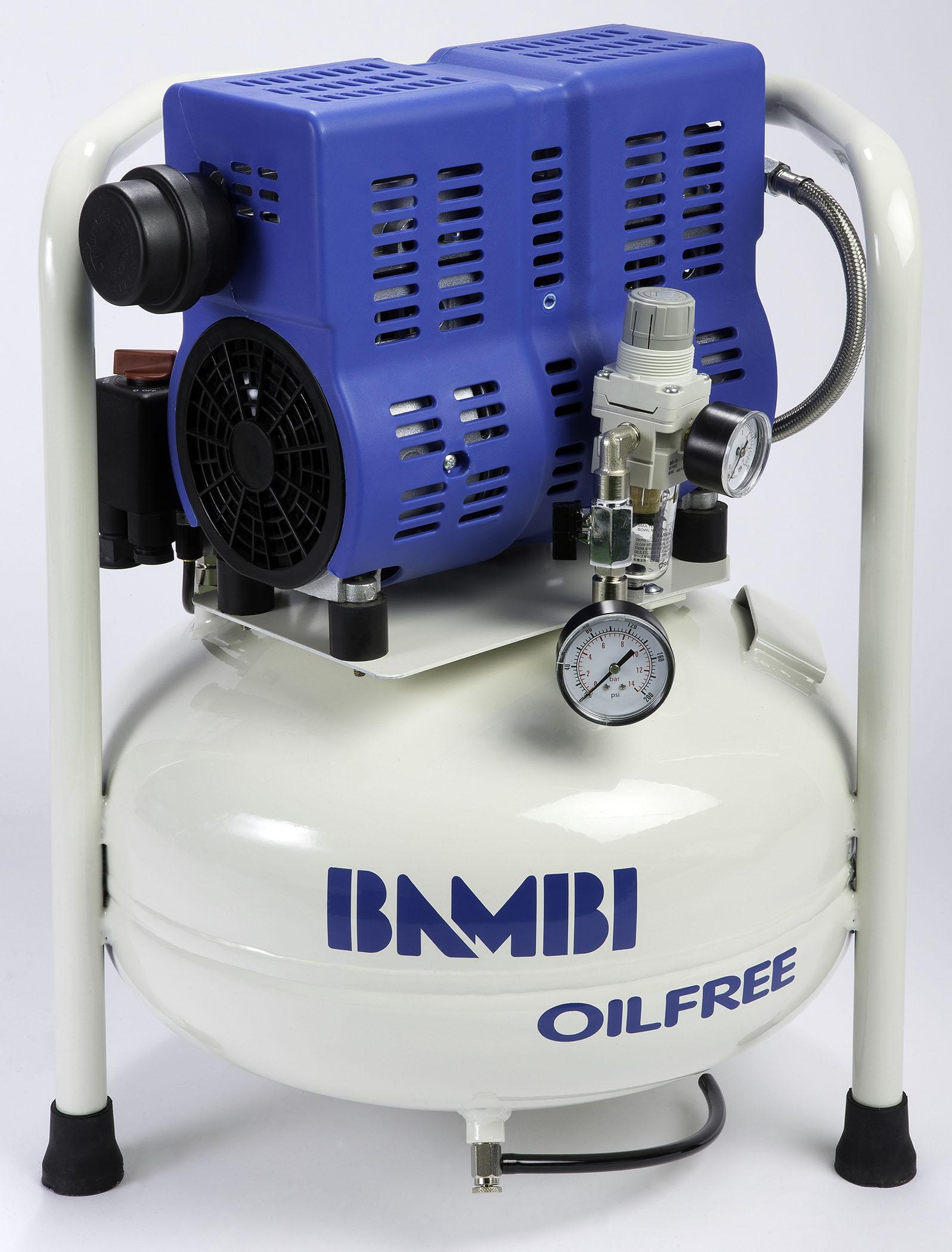 Midlands UK supplier of Bambi PT24 air compressor