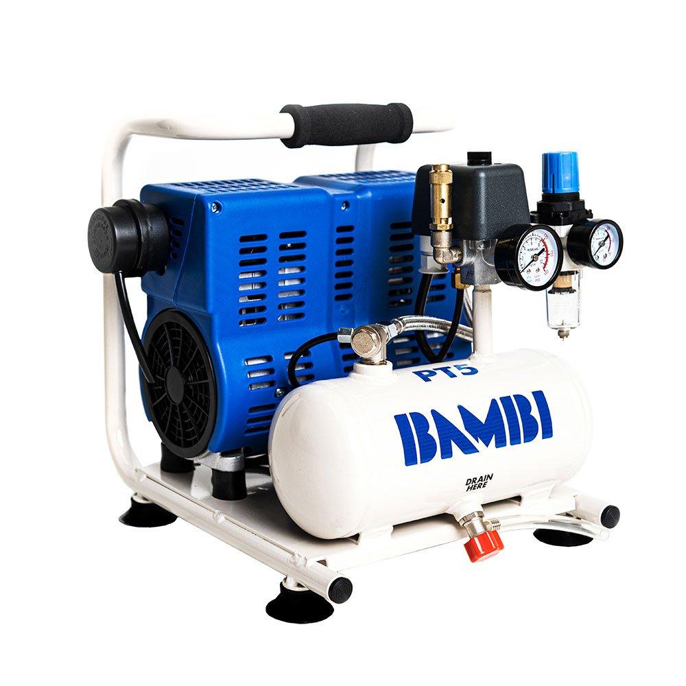 Midlands UK supplier of Bambi PT5 air compressor