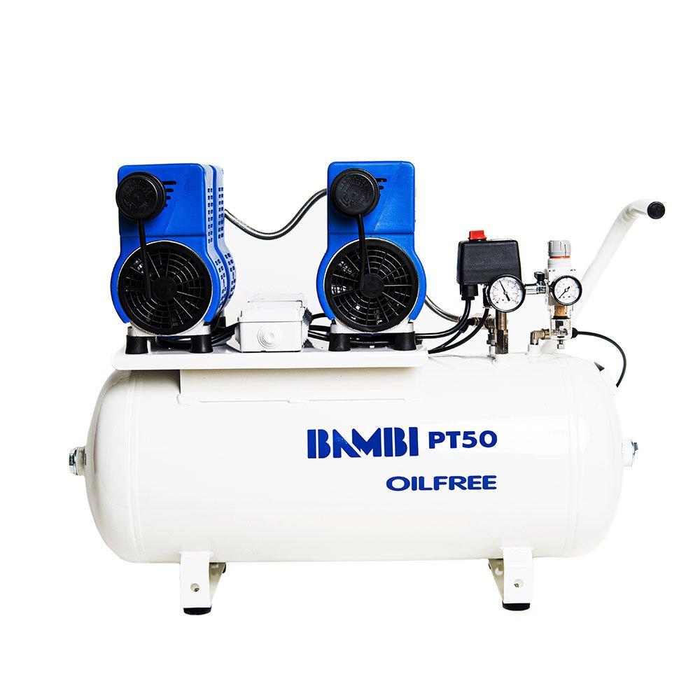 Midlands UK supplier of Bambi PT50 air compressor
