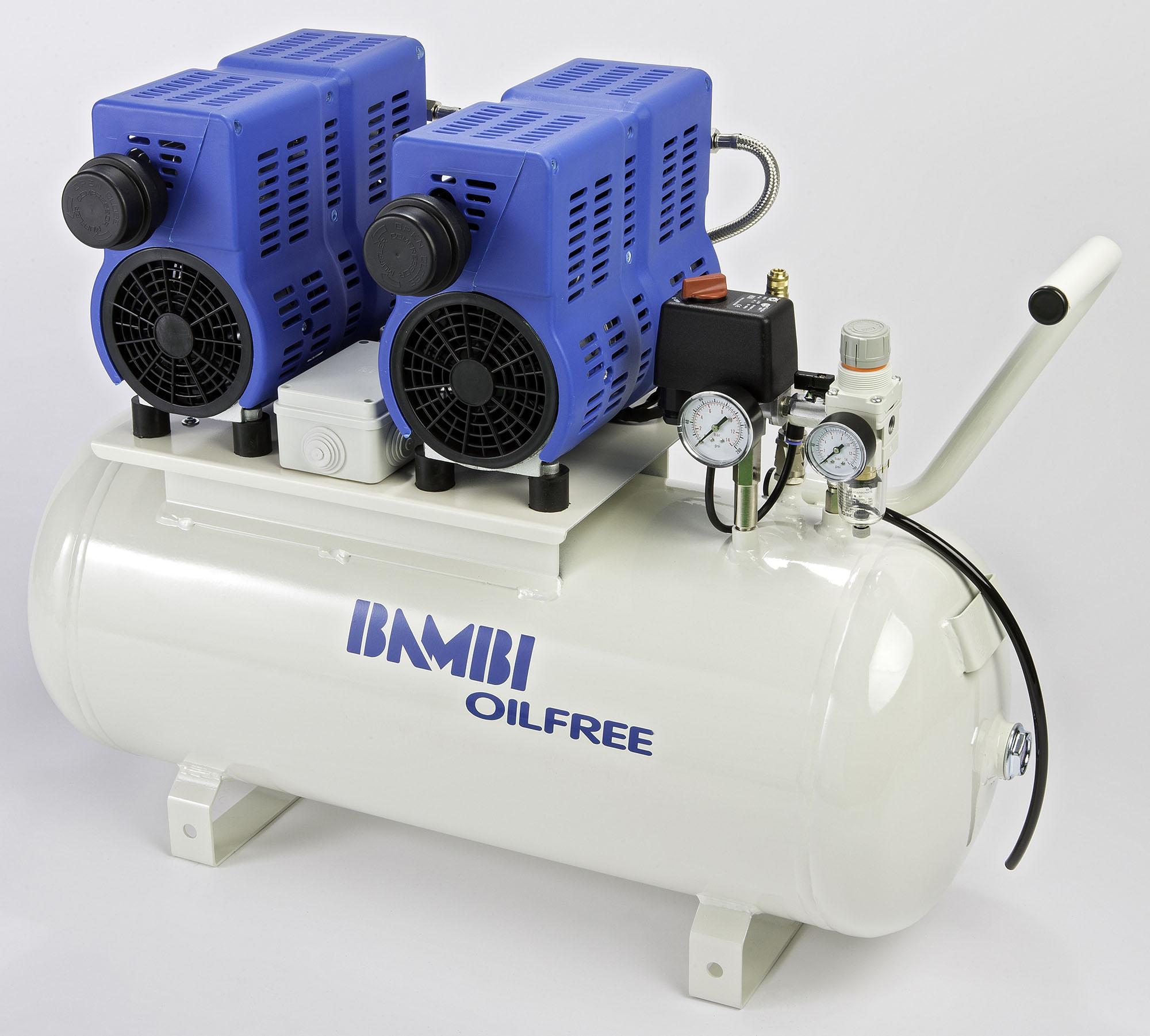 Midlands UK supplier of Bambi PT50D air compressor