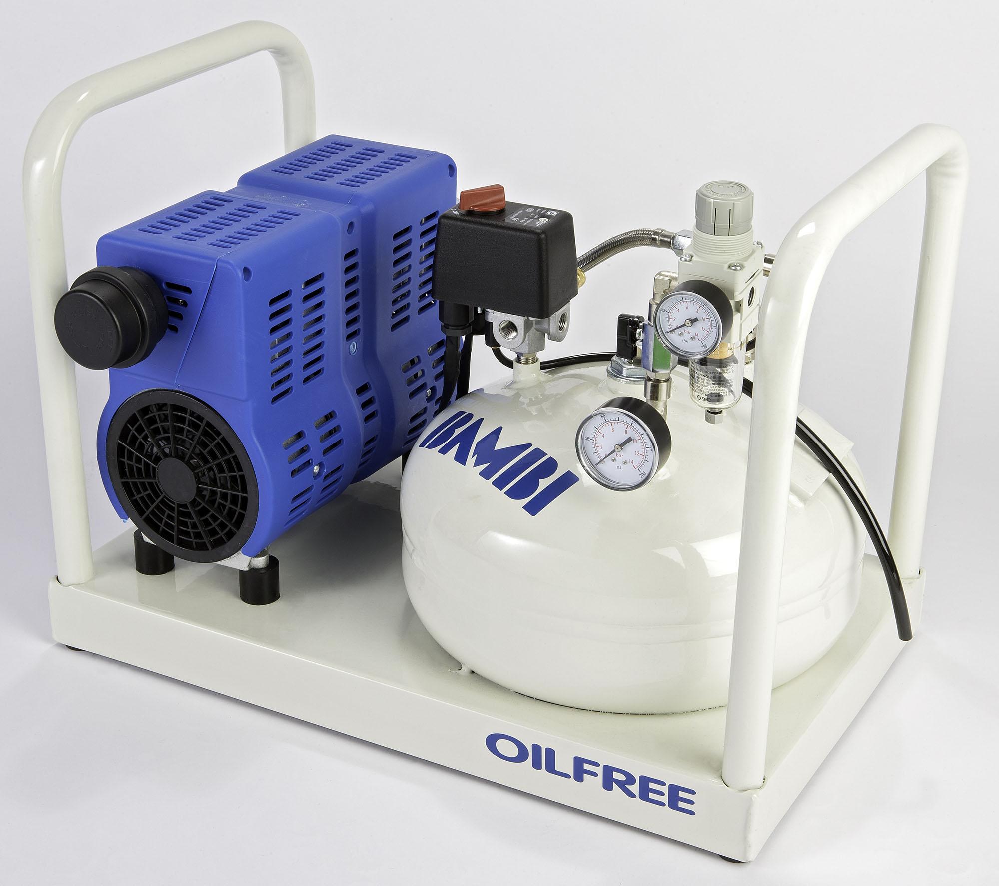 Midlands UK supplier of Bambi PT8 air compressor