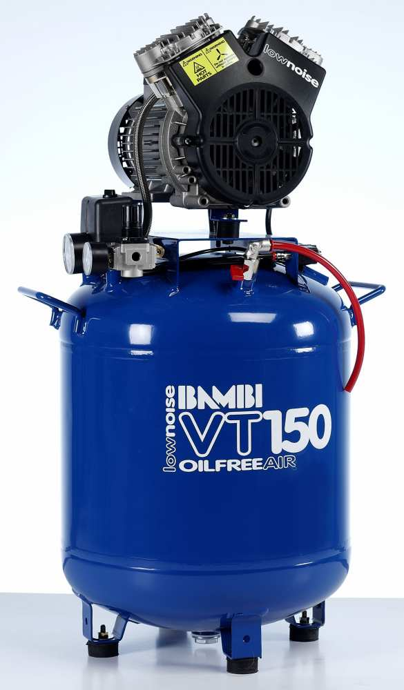 Midlands UK supplier and authorised distributor of the Bambi VT150 air compressor range