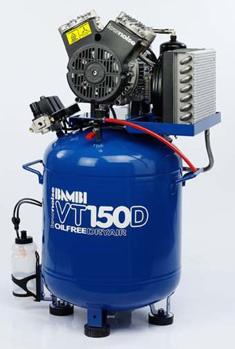 Midlands UK supplier of Bambi VT150D air compressor