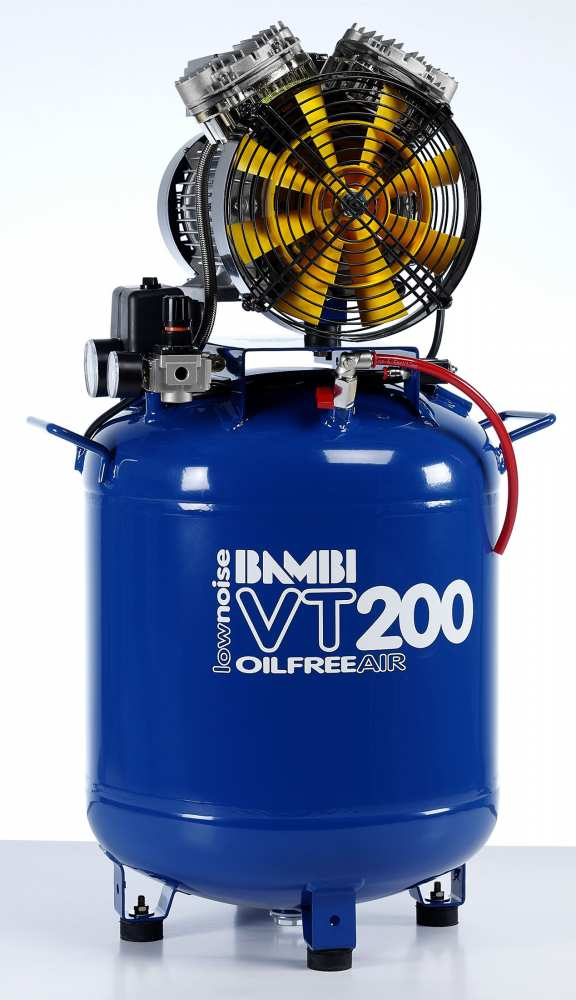 Midlands UK supplier and authorised distributor of the Bambi VT200 air compressor range
