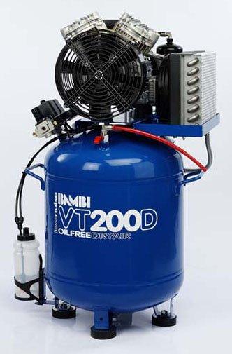 Midlands UK supplier of Bambi VT200D air compressor