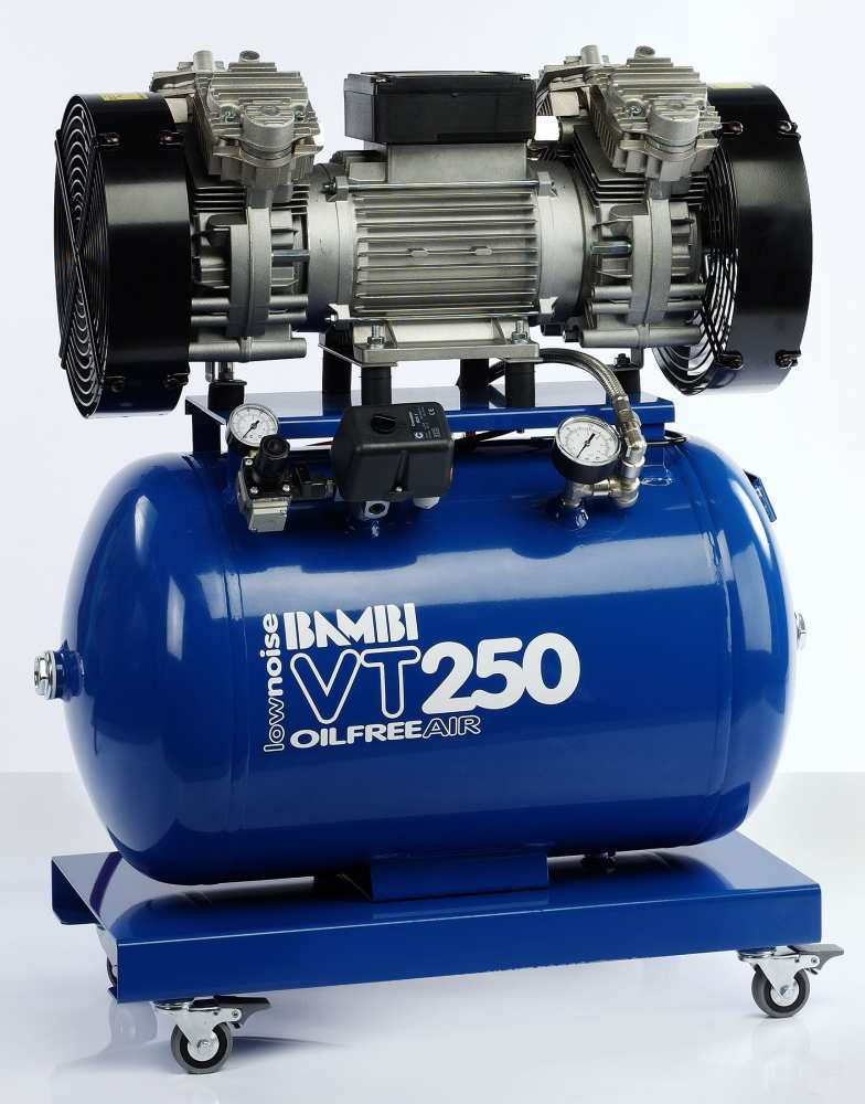 Midlands UK supplier and authorised distributor of the Bambi VT250 air compressor range