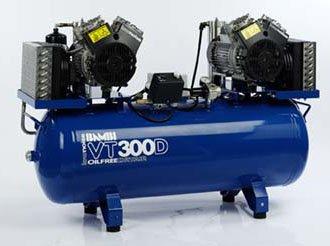 Midlands UK supplier of Bambi VT300D air compressor