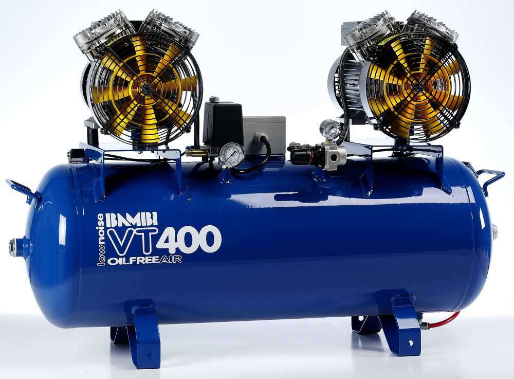 Midlands UK supplier and authorised distributor of the Bambi VT400 air compressor range
