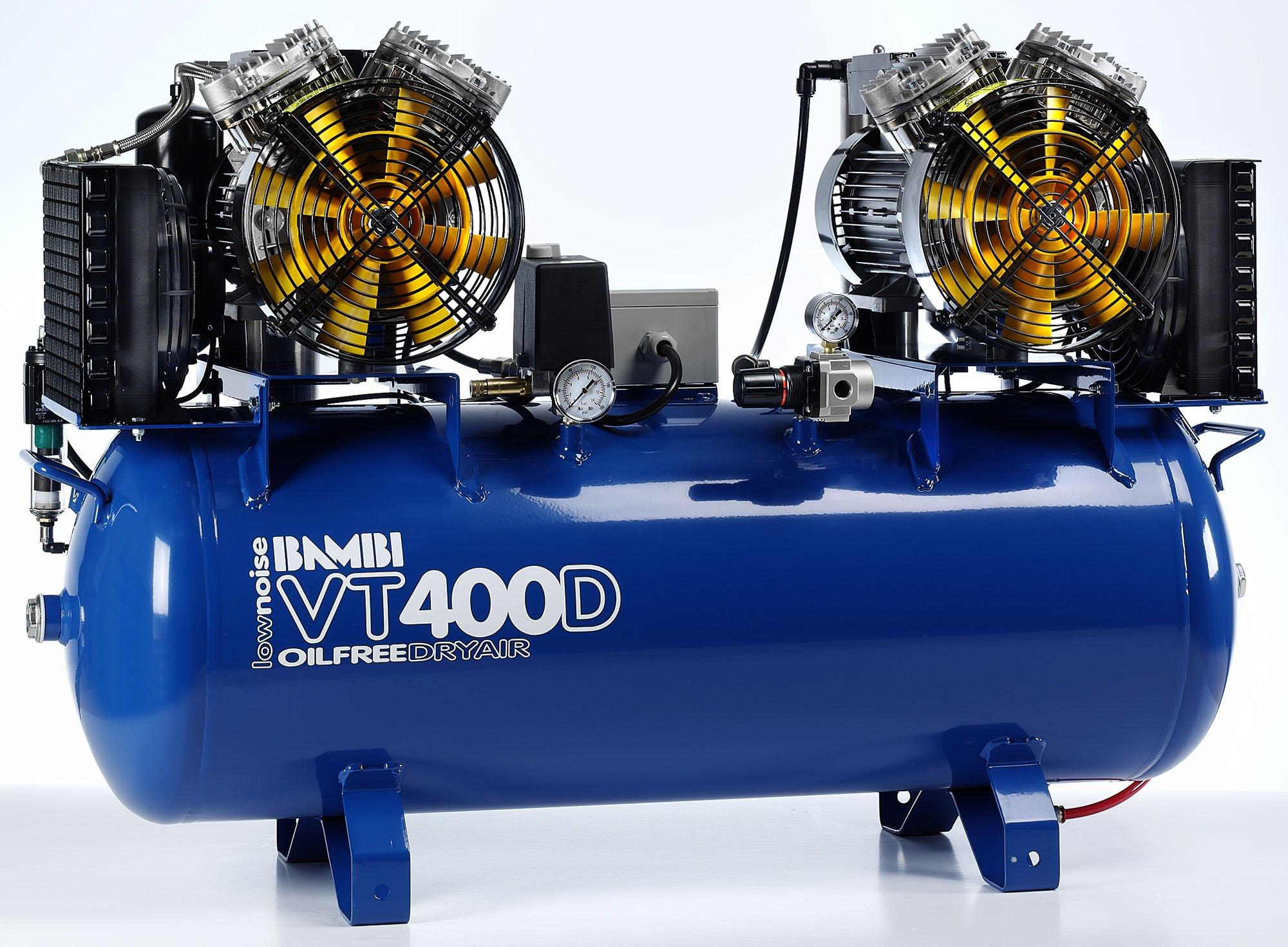 Midlands UK supplier of Bambi VT400D air compressor