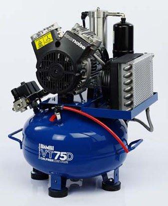 Midlands UK supplier of Bambi VT75D air compressor