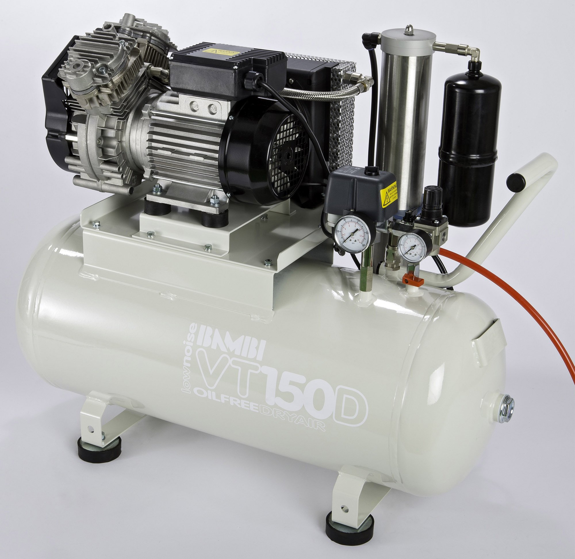 Midlands UK supplier of Bambi VTH150D air compressor