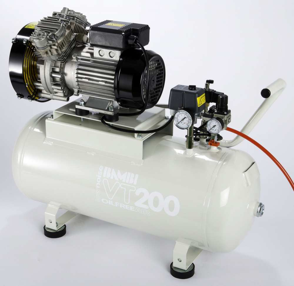 Midlands UK supplier and authorised distributor of the Bambi VTH200 air compressor range