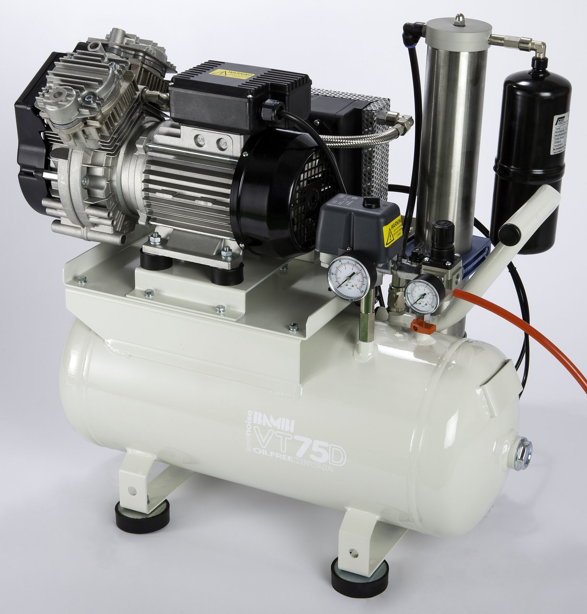 Midlands UK supplier of Bambi VTH75D air compressor