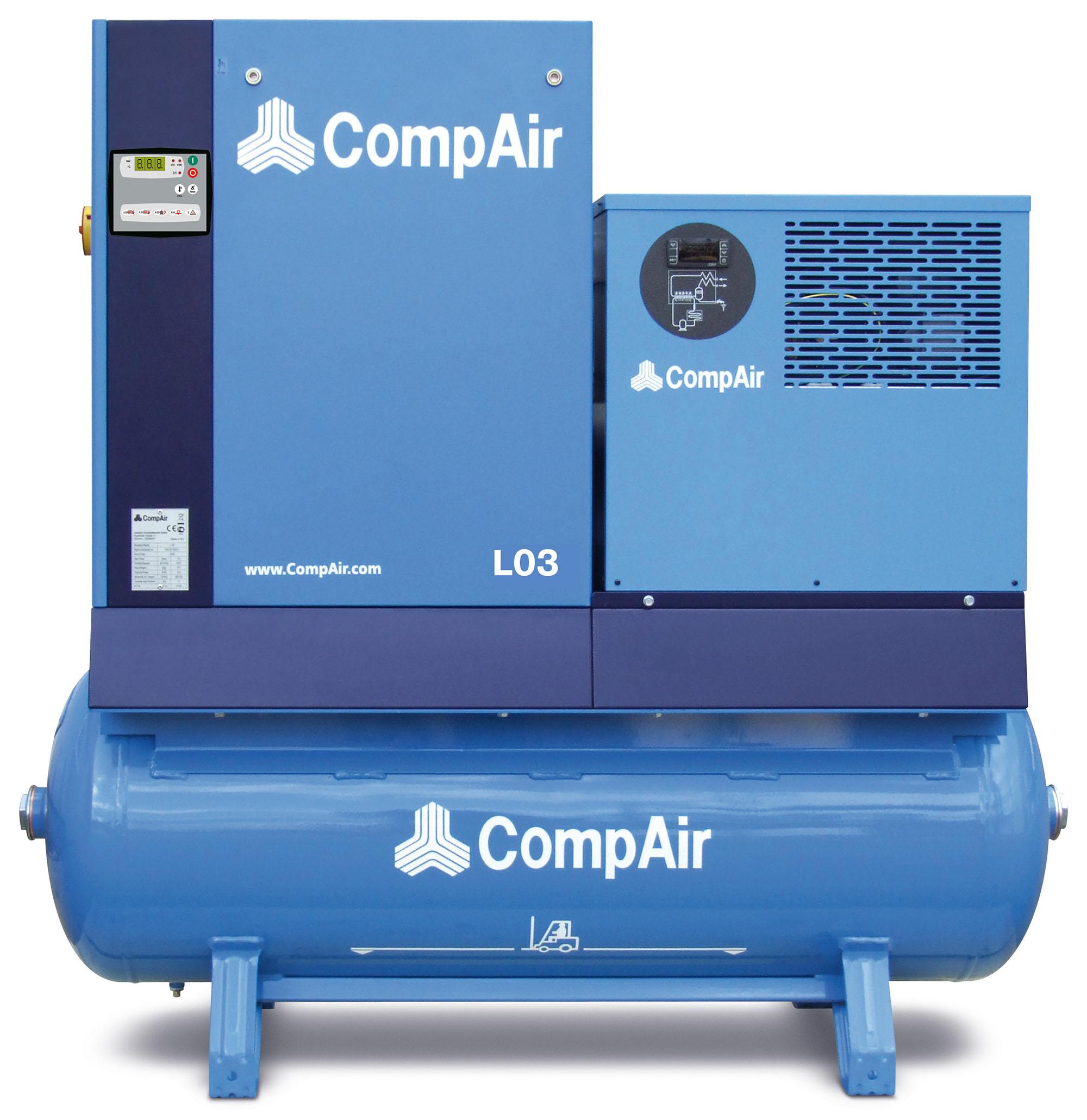 Midlands UK supplier of CompAir L03FS air compressor