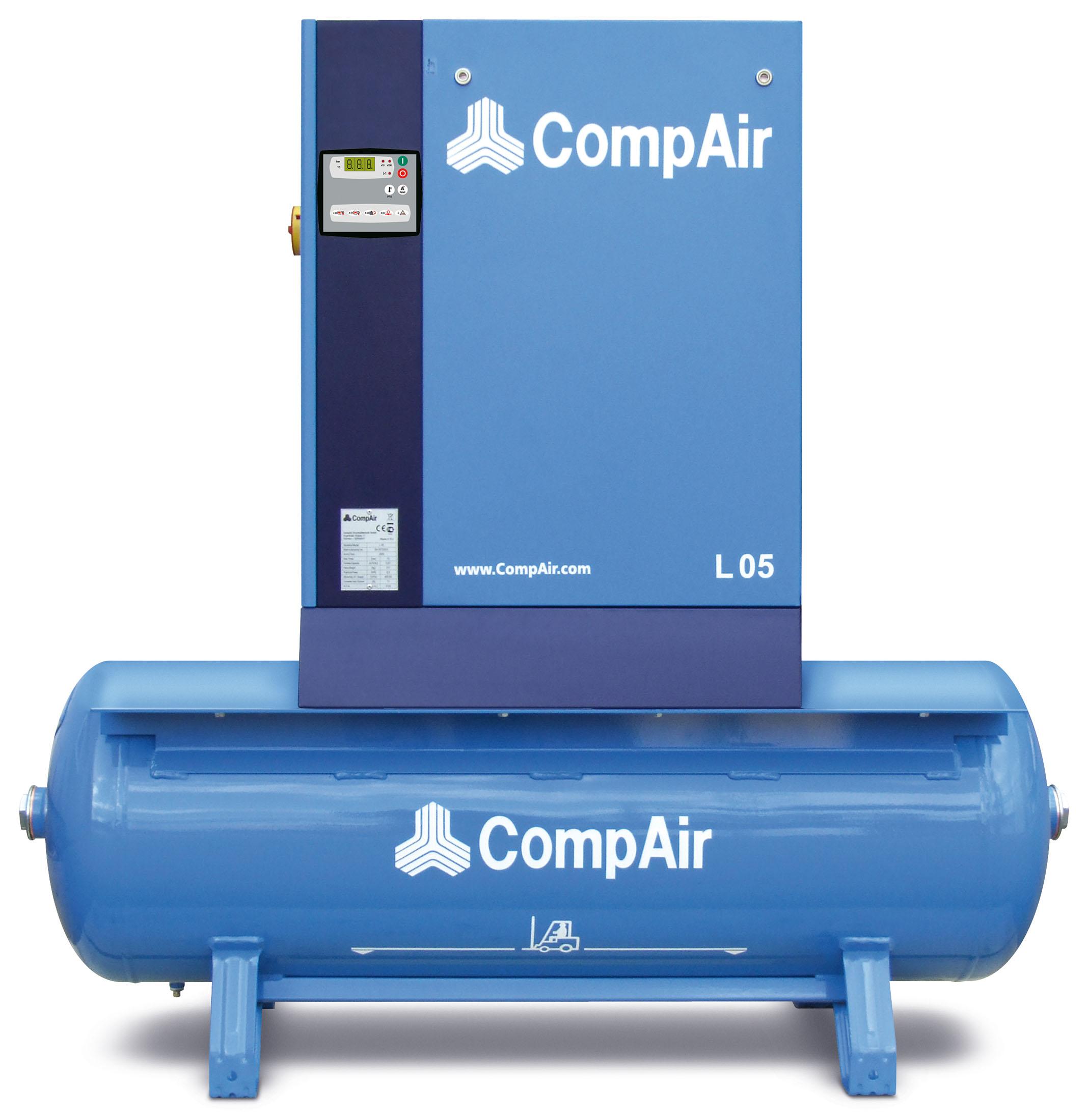 Midlands UK supplier of CompAir L05RM air compressor