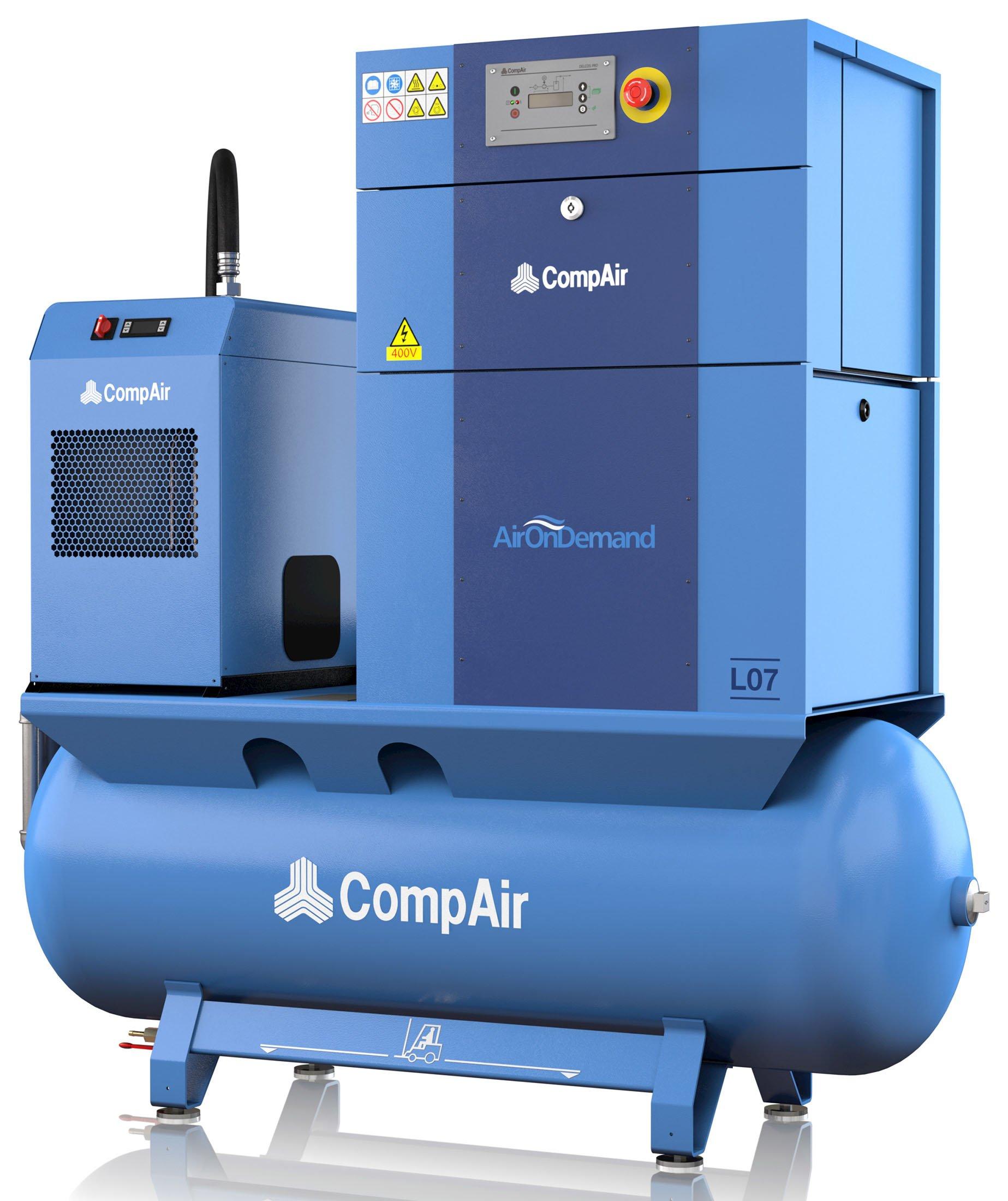 Midlands UK supplier of CompAir L07 AirStation air compressor