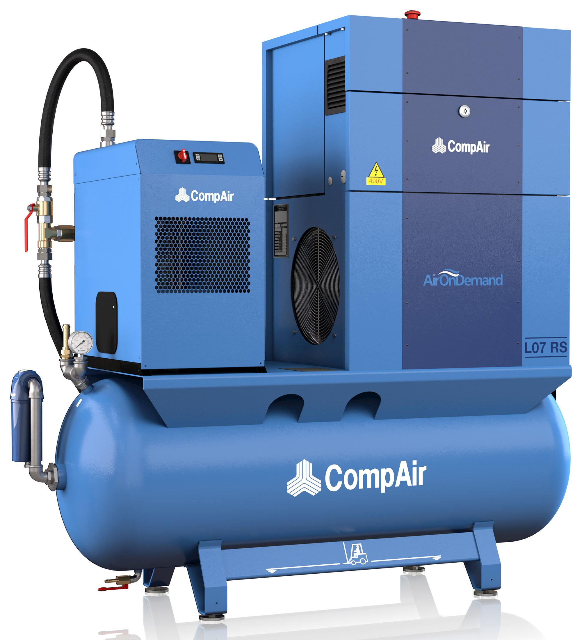 Midlands UK supplier of CompAir L07RS AirStation air compressor