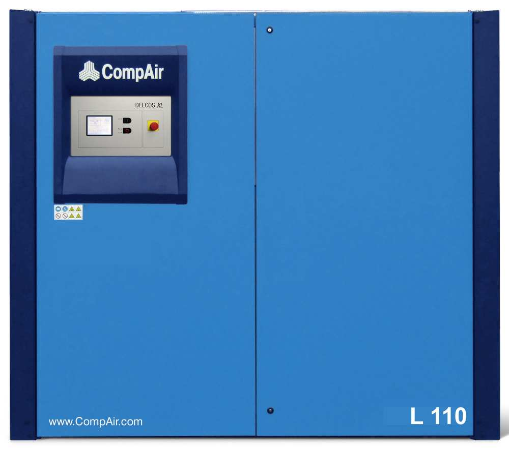 Midlands UK supplier and authorised distributor of the CompAir L110 air compressor range