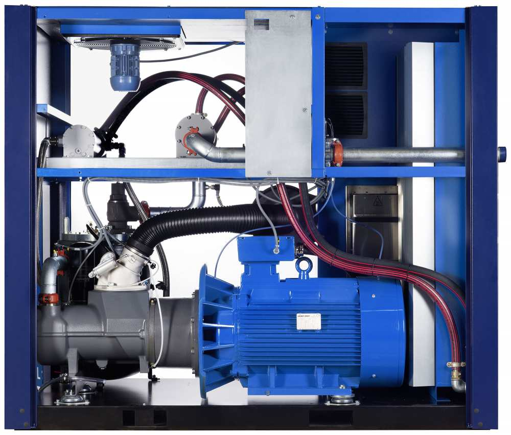 Midlands UK supplier and authorised distributor of the CompAir L110RS air compressor range