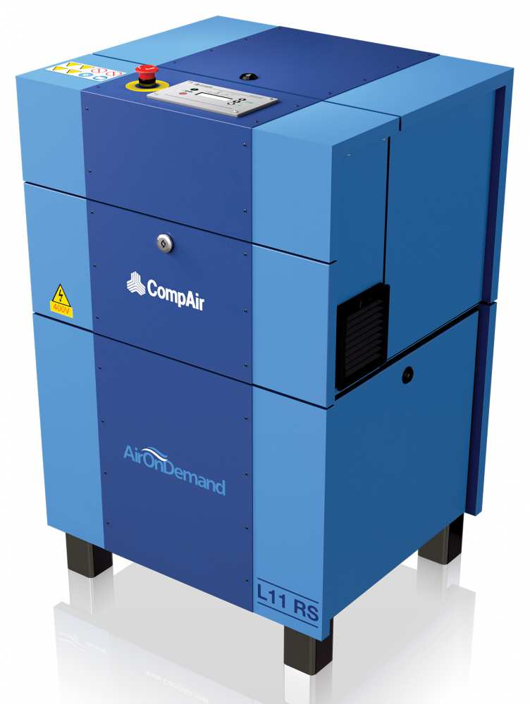 Midlands UK supplier and authorised distributor of the CompAir L11RS air compressor range