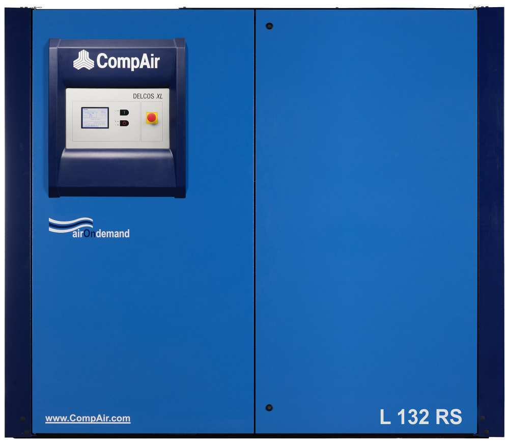 Midlands UK supplier and authorised distributor of the CompAir L132RS air compressor range