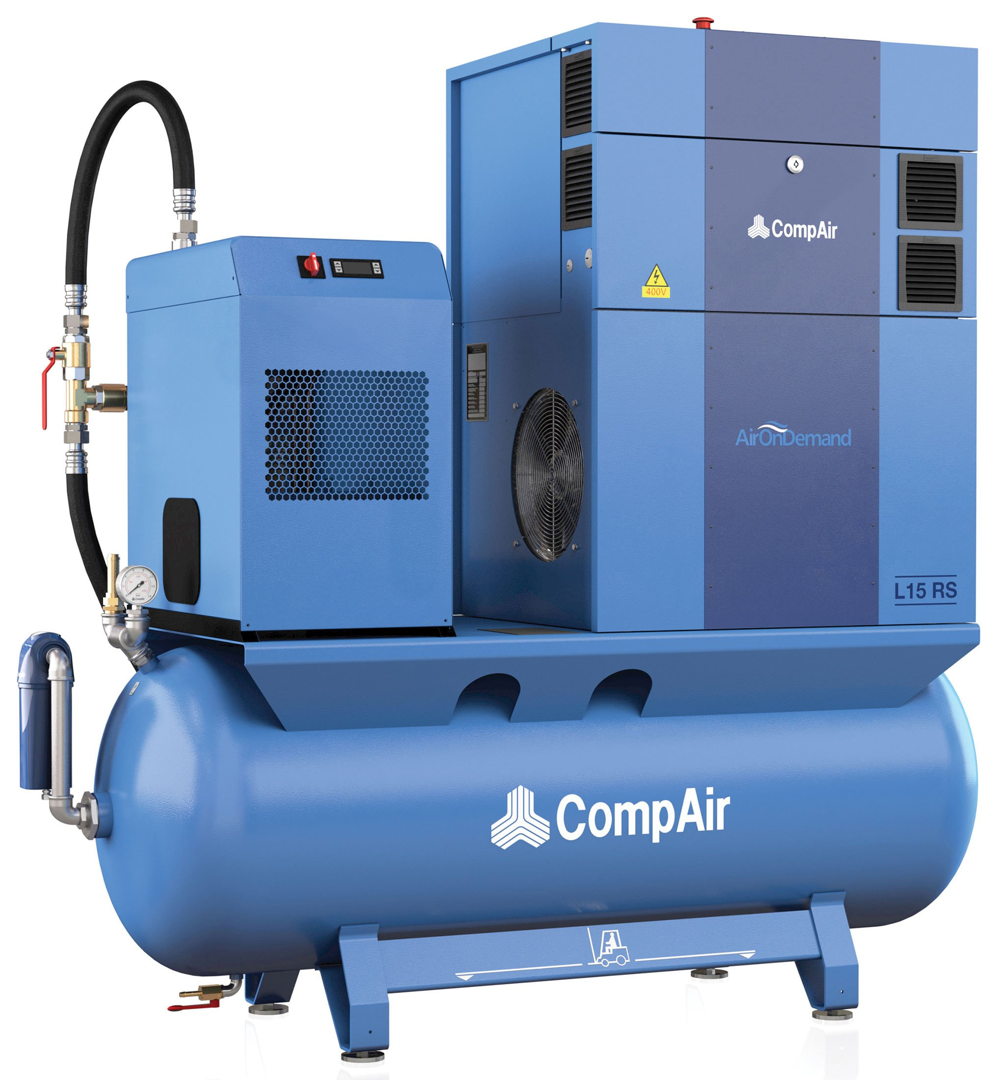 Midlands UK supplier of CompAir L15RS AirStation air compressor