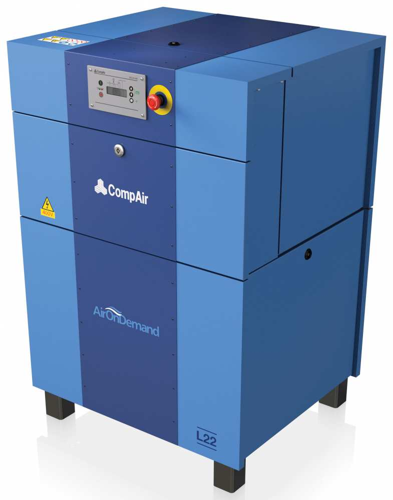 Midlands UK supplier and authorised distributor of the CompAir L22 air compressor range