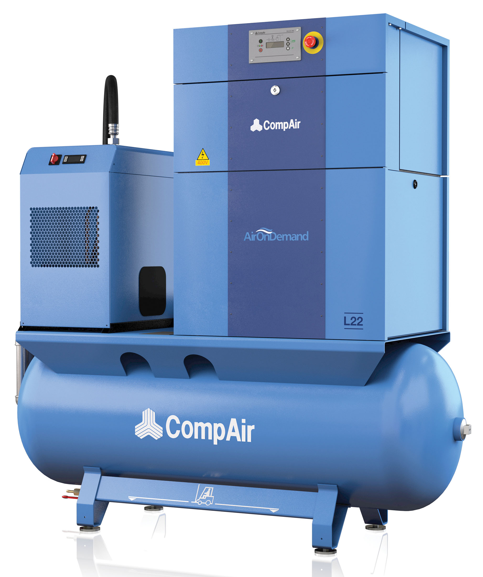 Midlands UK supplier of CompAir L22RS AirStation air compressor
