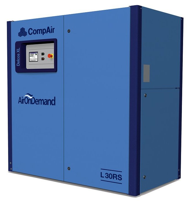 Midlands UK supplier and authorised distributor of the CompAir L30RS air compressor range