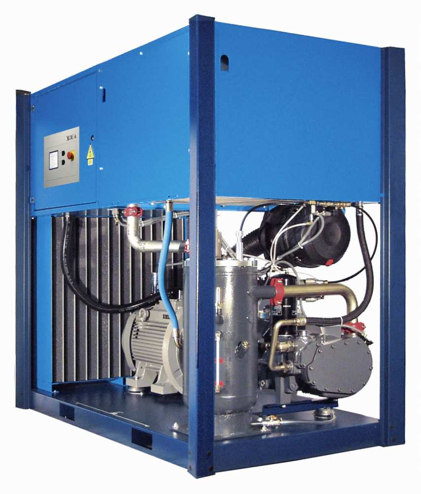 Midlands UK supplier and authorised distributor of the CompAir L80 air compressor range
