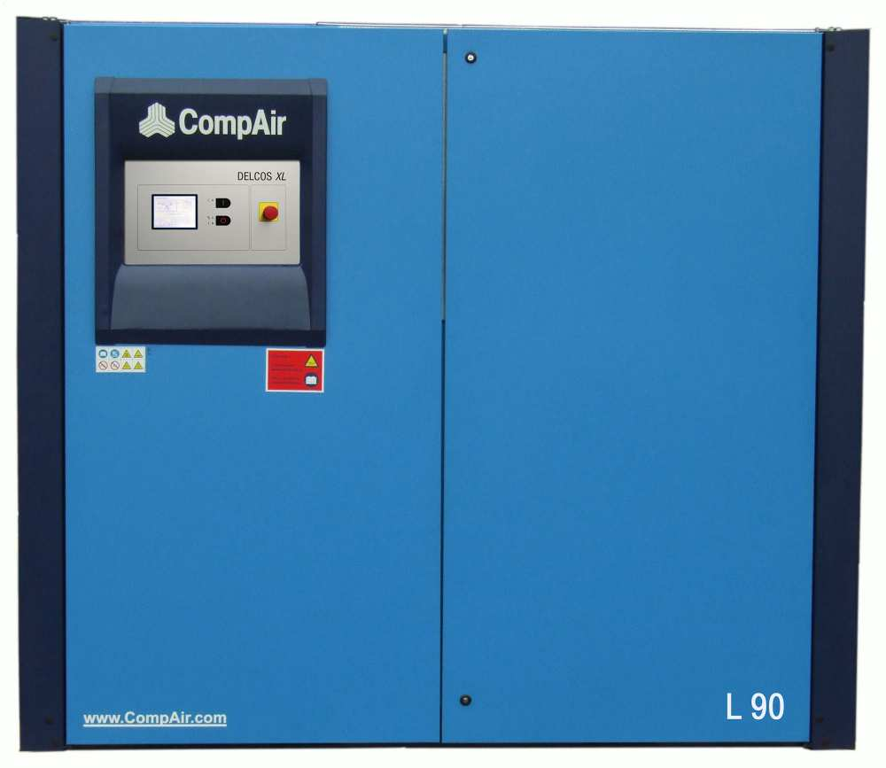 Midlands UK supplier and authorised distributor of the CompAir L90 air compressor range