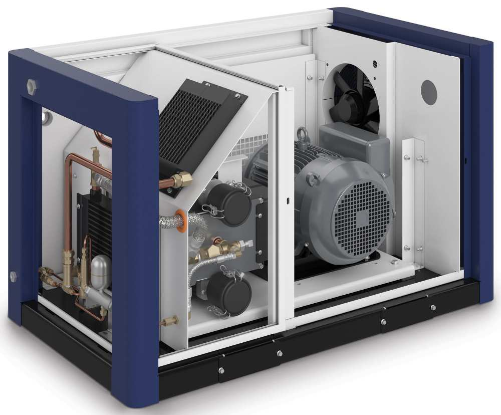 Midlands UK supplier and authorised distributor of the CompAir S06 air compressor range