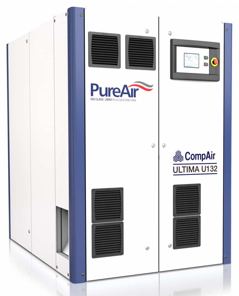Midlands UK supplier and authorised distributor of the CompAir U132 air compressor range