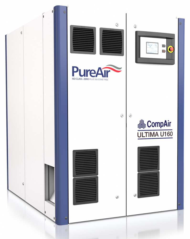 Midlands UK supplier and authorised distributor of the CompAir U160 air compressor range