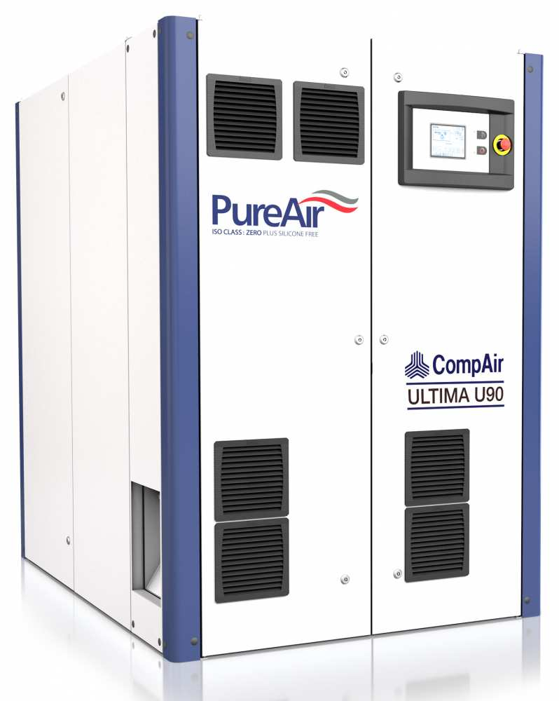 Midlands UK supplier and authorised distributor of the CompAir U90 air compressor range