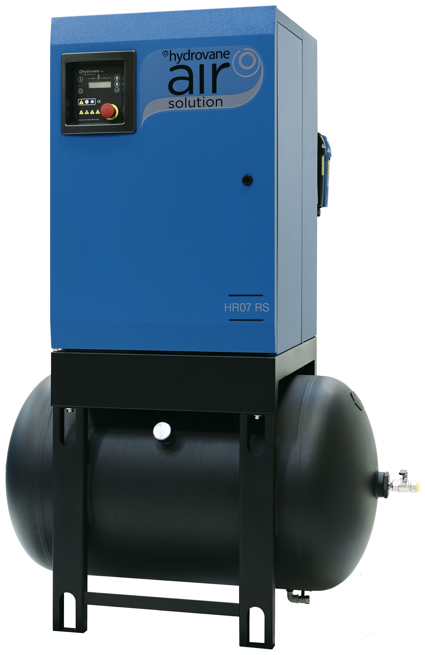 Midlands UK supplier of Hydrovane HR07ER RS air compressor