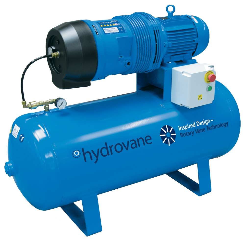 Midlands UK supplier and authorised distributor of the Hydrovane HV04RM air compressor range