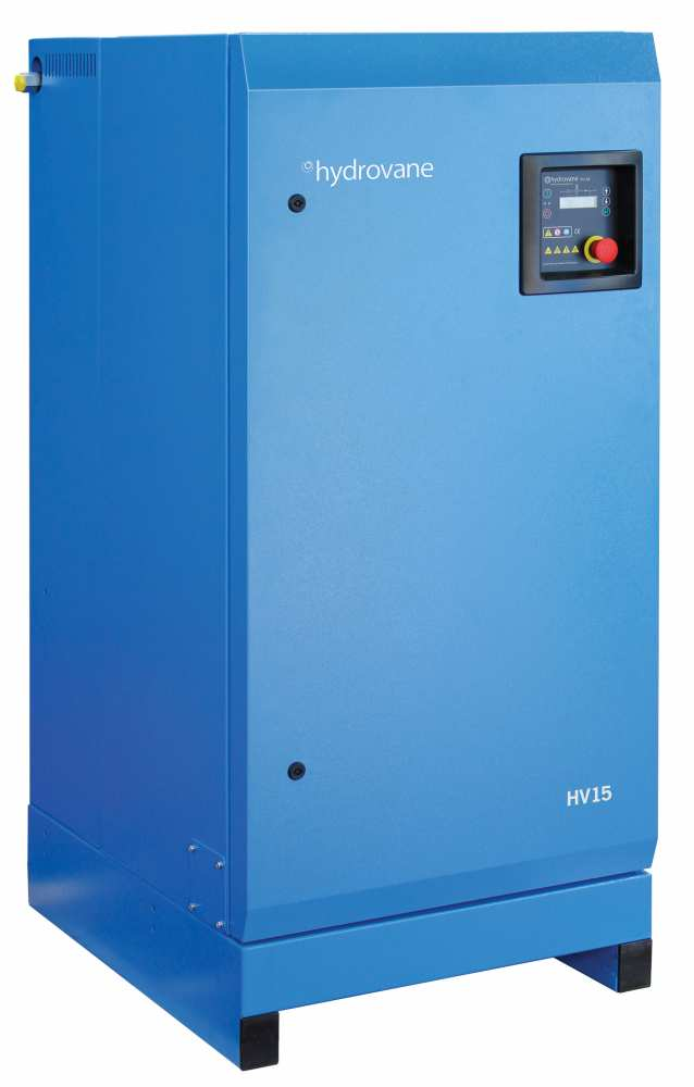 Midlands UK supplier and authorised distributor of the Hydrovane HV15 air compressor range