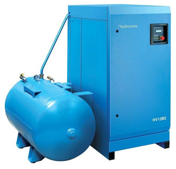 Midlands UK supplier of Hydrovane HV15ACER RS air compressor