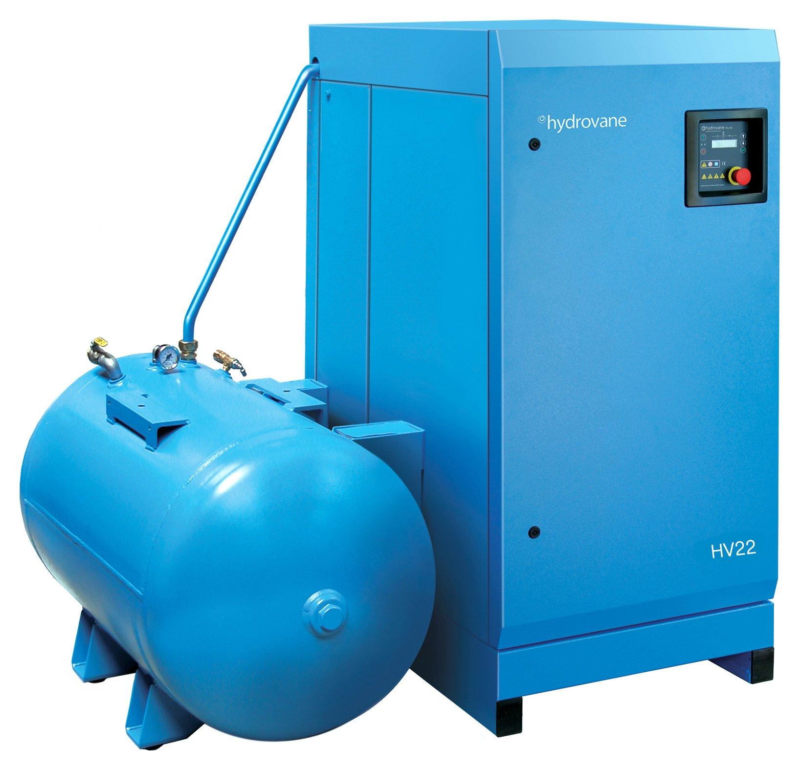 Midlands UK supplier of Hydrovane HV22ACER air compressor