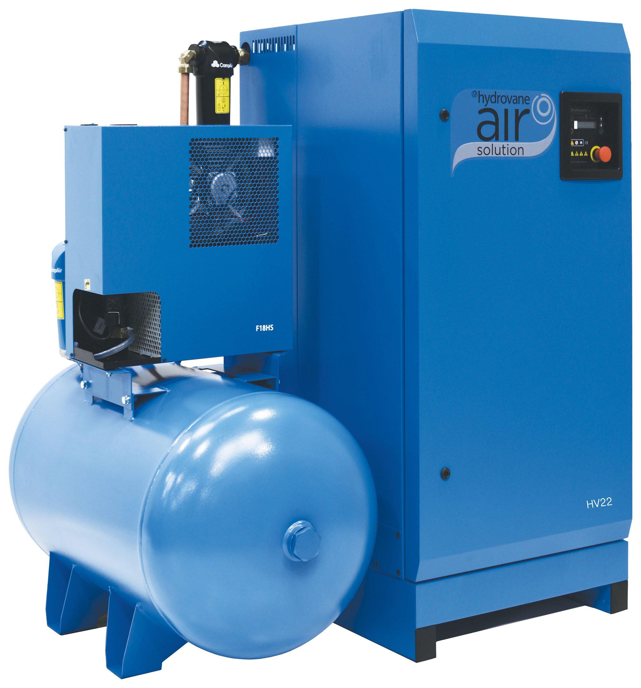 Midlands UK supplier of Hydrovane HV22AERD air compressor